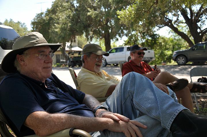 Dick, John, and Buz