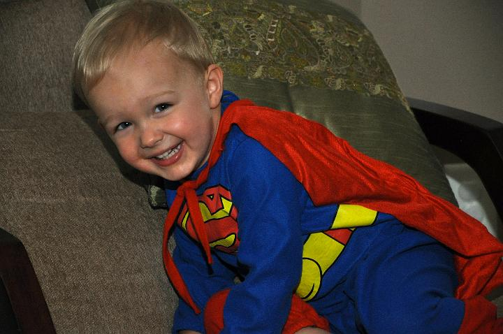 Carter as Superman