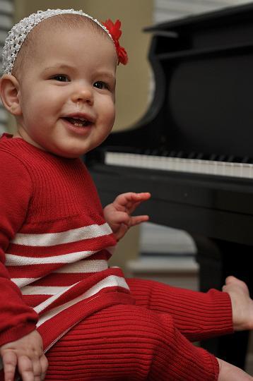 Audrey 8 months