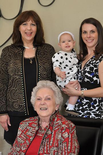 Nana, G.G., Audrey, & E