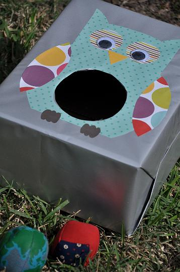 Owl Bean Bag Toss