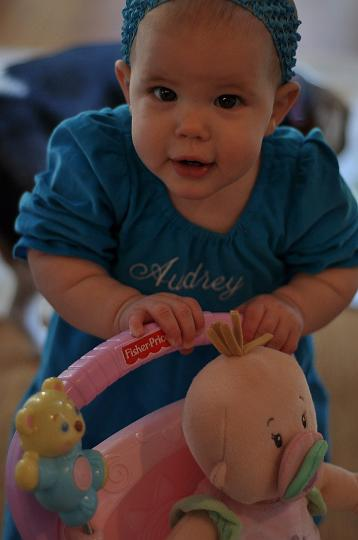 Audrey 10 months