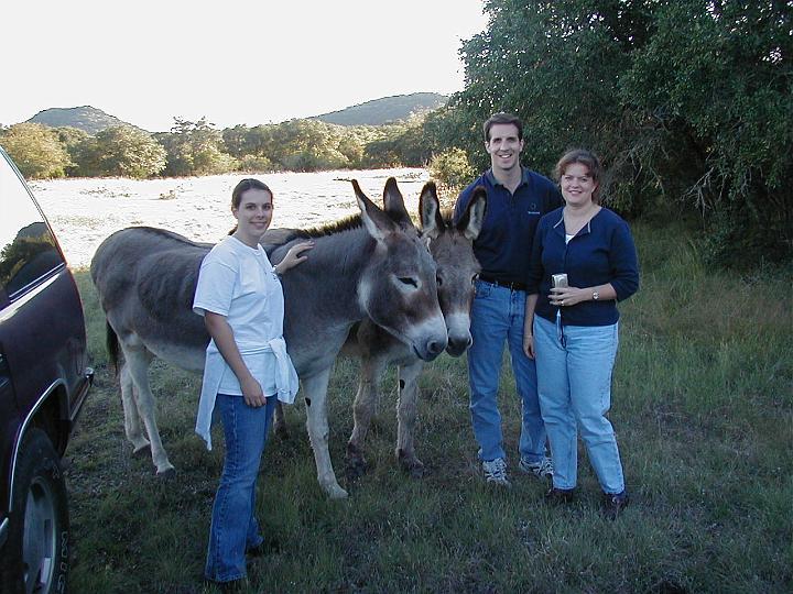 E, Mike, & Leslie 2001